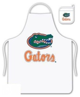 Florida Gators Tailgate Apron and Mitt Set aprons