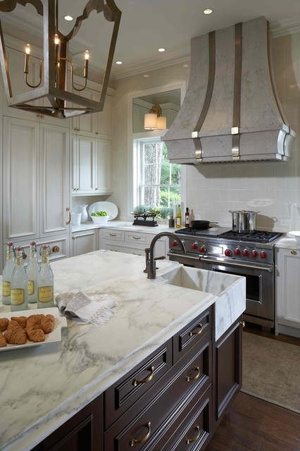 The Ormond kitchen range hood - Francois & Co - kitchen hoods and - Vent Hood For Corner Placement