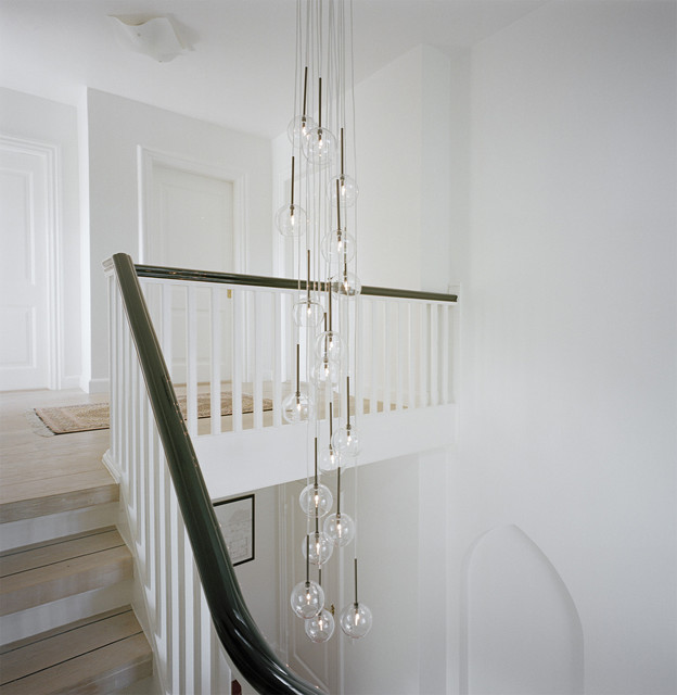 Modern Staircase transitional-staircase
