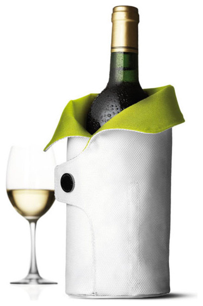 Cool Coat, White/Lime contemporary-wine-and-bar-tools