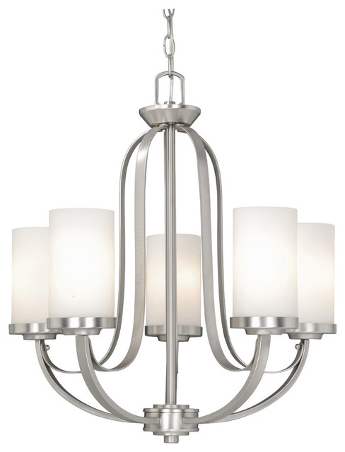 Brushed Nickel Chandelier Lights