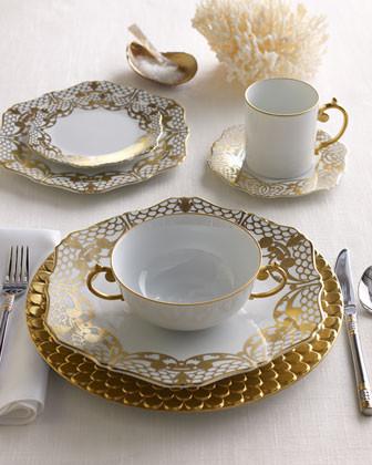 L'Objet Four Alencon Mugs & Saucers traditional-mugs