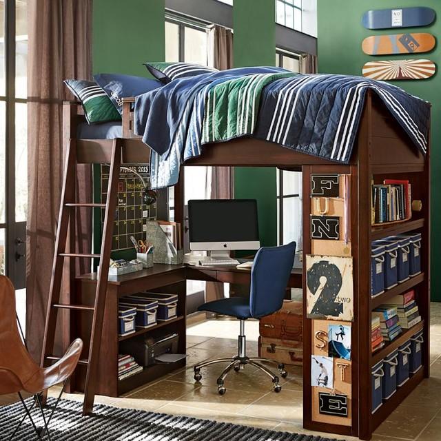 Sleep Study Loft Loft Beds Other Metro By Pbteen