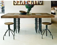 Rebar Dining Table eclectic dining tables