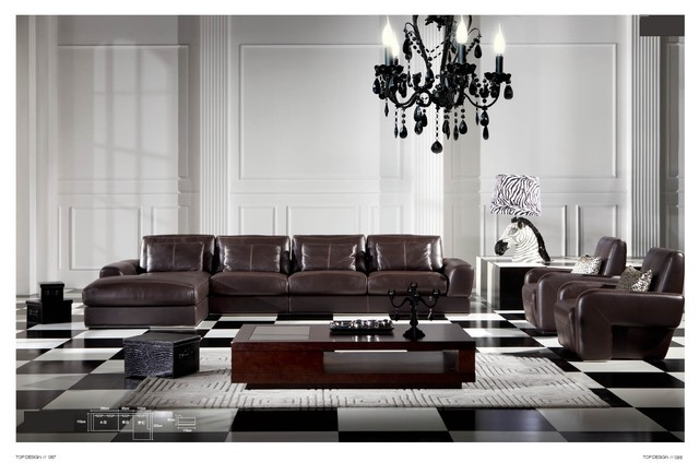 Malta Italian Leather Sectional Sofa Modern Sectional Sofas Los Angeles