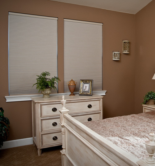 Simple Fit Pop-In Cellular Shade: Blackout contemporary-cellular-shades