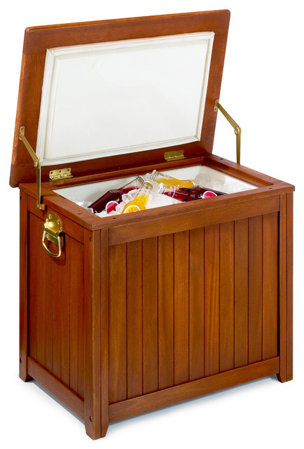 Wood Outdoor Cooler Contemporary Coolers And Ice