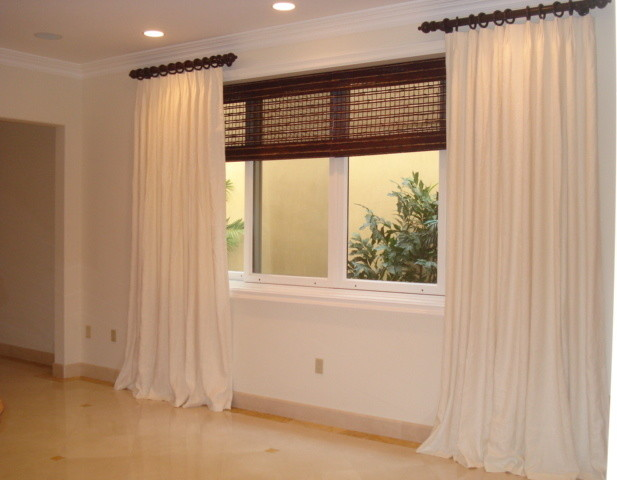 Various window treatments window-treatments