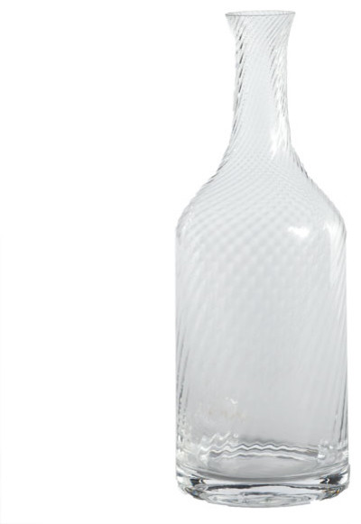 Glass Half Full Carafe - Medium traditional barware