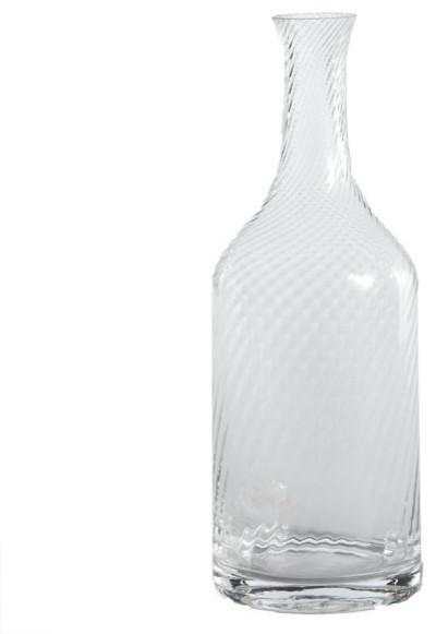 Glass Half Full Carafe - Medium traditional-barware