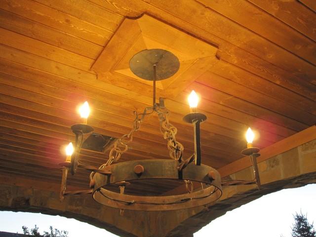 Lighting rustic lighting denver by shachtman studios for Houzz rustic lighting