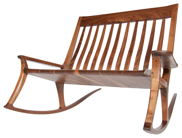 Double Wide: a love seat Rocking Chair - Contemporary - Rocking Chairs ...