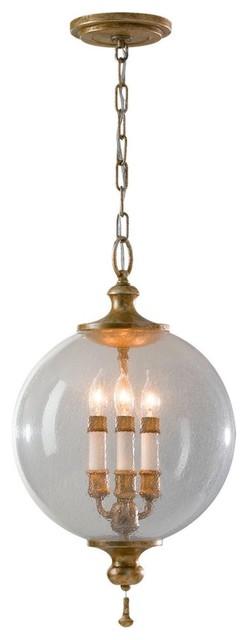 Clear Glass Globe Pendant pendant-lighting