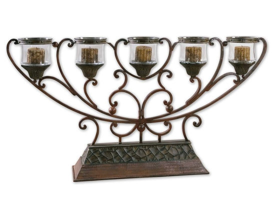 Niki, Table Candelabra by Uttermost - StudioLX