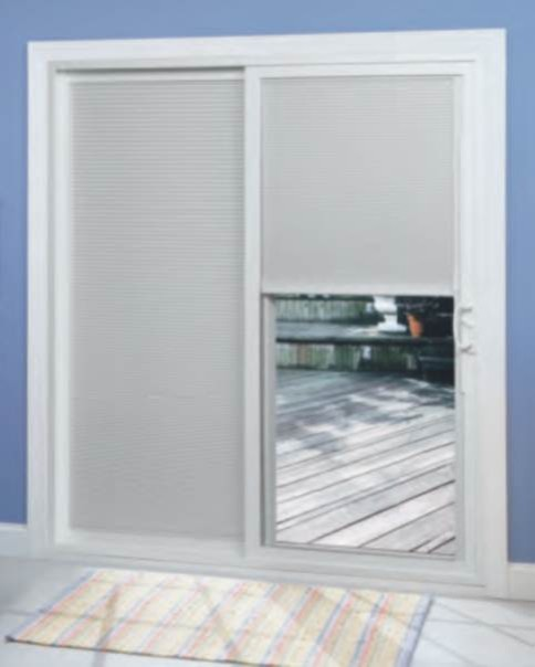Sliding Door Coverings : Sliding patio door with bbg modern charlotte by