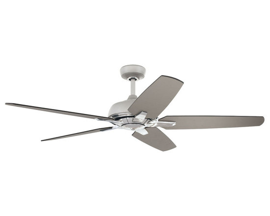 "Ellington Fans - Ellington Fans AVL56TIT5RW Titanium Modern Avalon 5 Blade 56"" Indoor - Ellington Fans Avalon 5 Blade 56"" Indoor Ceiling Fan with Control from the Modern Collection Add a classy modern appearance to your home with the Avalon Ceiling Fan from the Modern Collection by Ellington Fans. The fan is a simple way to give your home a presentation everyone will envy. Sophistication, poise and elegance come in all shapes and sizes. Get carried away by Ellington Fans Classic Collection and find exactly what you re looking for among their unique masterpieces. Ellington Fans Avalon Features:  Lifetime Warranty WCR Wall Control RCR2 Remote Light Kit Adaptable  (Not Included)   Ellington Fans Avalon Specifications:  CFM: 5728 Watts: 77.6 Height from Blades: 12.5"" Height from Ceiling: 13.5"" Light Kit Adaptable: Yes Light Kit Included: No Number of Blades: 5 Blade Span: 56"" Control Type: Wall Control Control Type: Remote Remote Included: Yes Mount Type: Downrod Only Motor Size: 188mm x 22mm  Ellington Fans Avalon Blade Finishes:   Titanium Finish  - Titanium Blades  Brushed Nickel Finish  - Dark Cherry / Walnut Blades"