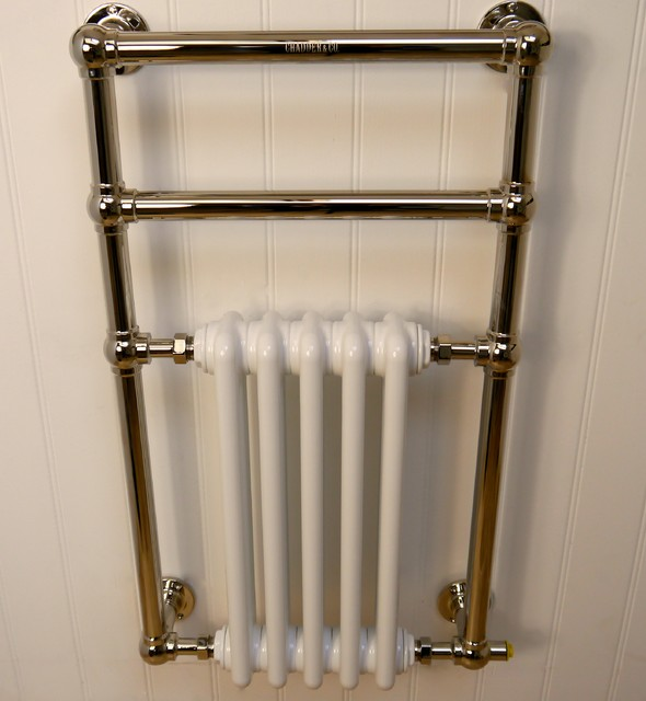 Traditional Heated Towel Rails - Traditional - Towel Bars And Hooks - london - by Chadder & Co ...