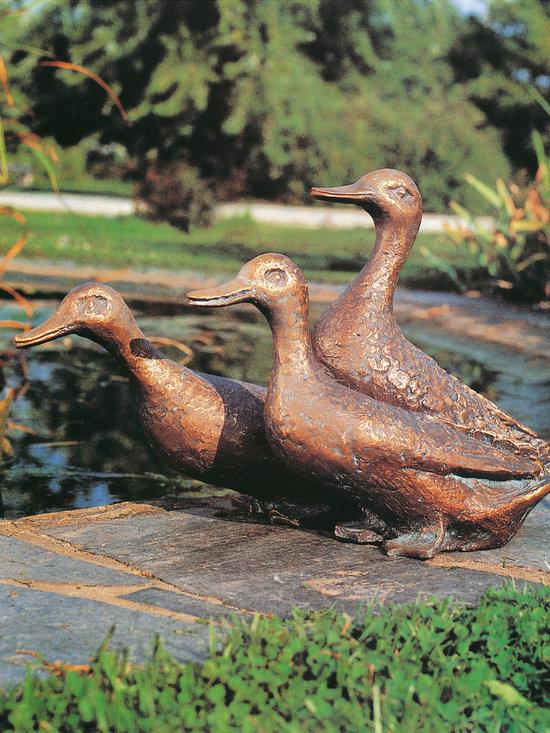 Bronze Statues - Ducks -