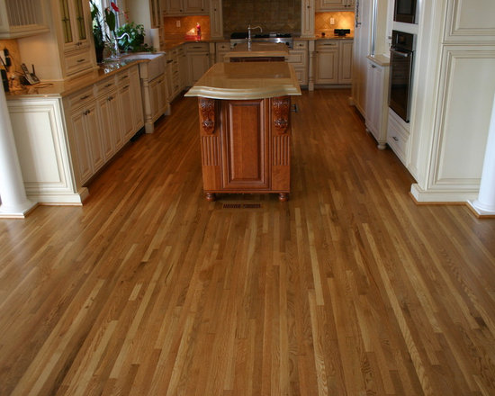 White Oak floor refinishing -
