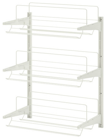 ... Upright/Shoe Organizer, White - Contemporary - Shoe Storage - by IKEA