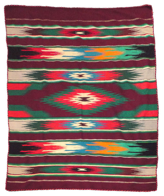 Kitchen Cabinet Designs In India Very Rare Early Chimayo Sarape Indian Blanket With Rope ...