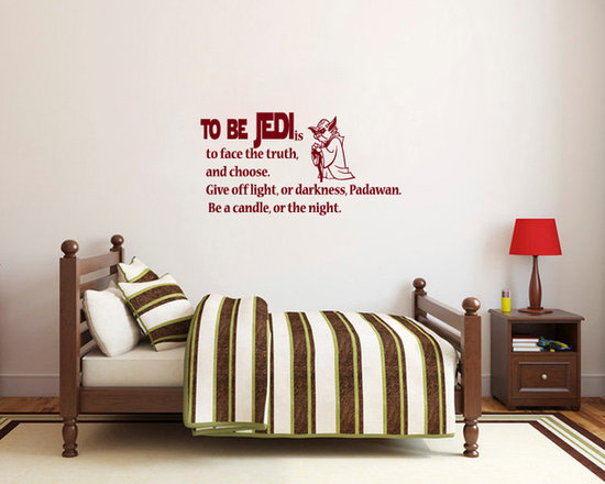 Vinyl Decals Be Jedi Star Wars Quote Home Wall Decor Removable Sticker Mural L55 -