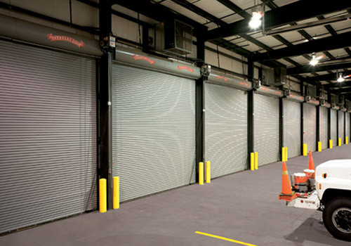 Commercial garage doors can handle even Sioux City weather.
