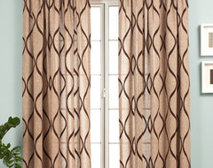 Blindsgalore Signature Drapery Panel: Natura traditional curtains