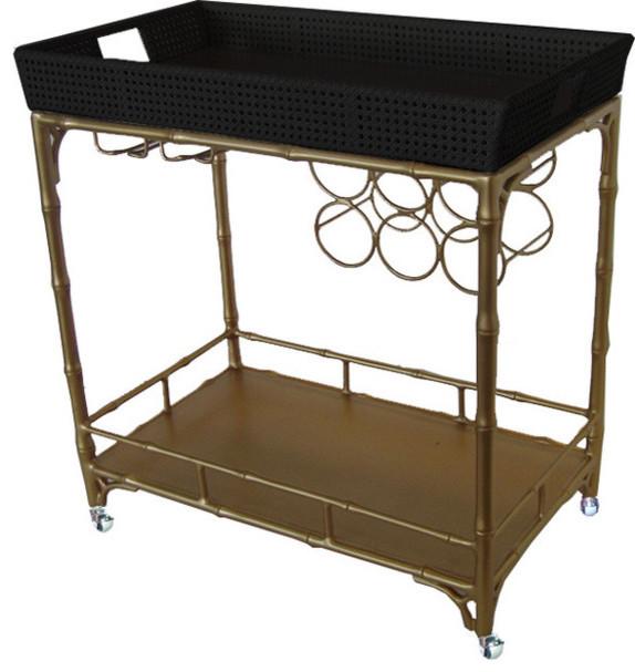 The Madison Mixer contemporary-bar-carts