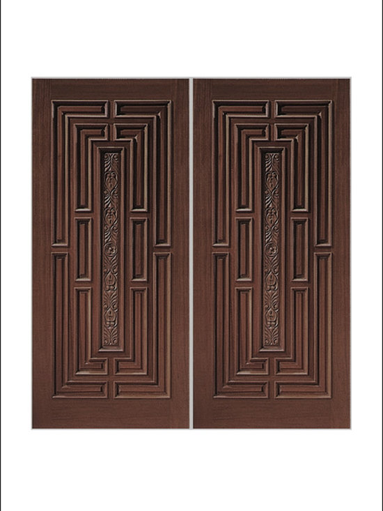 Carved and Mansion Entry Doors Model # 1411 -