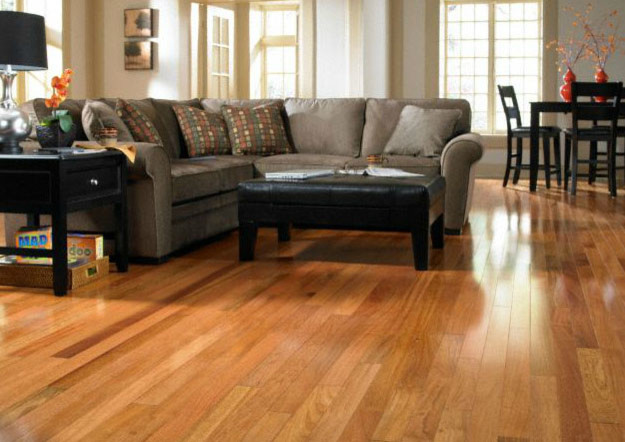 Bellawood select brazilian cherry hardwood flooring by for Brazilian cherry flooring