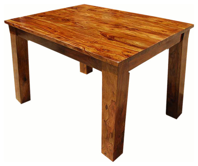 solid wood rectangle mission dining room table rustic dining tables