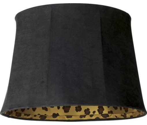 Leopard Lamp Shade eclectic-lamp-shades