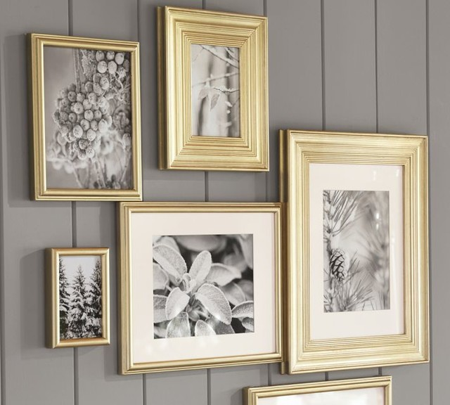 PB Gilt Frames - Traditional - Picture Frames - by Pottery ...