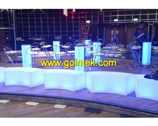 illuminated LED bar chair -