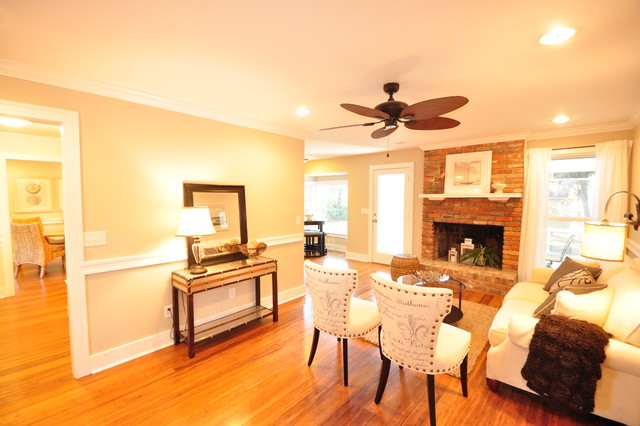 Renovated Gypsy Ln. traditional-living-room