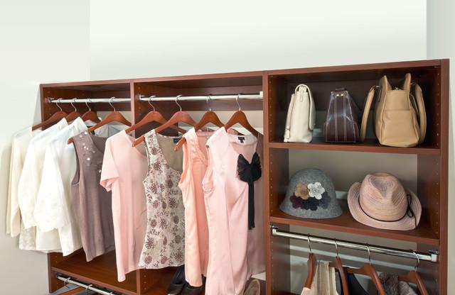 Organized Living Classica Modern Cherry Reach-In Closet