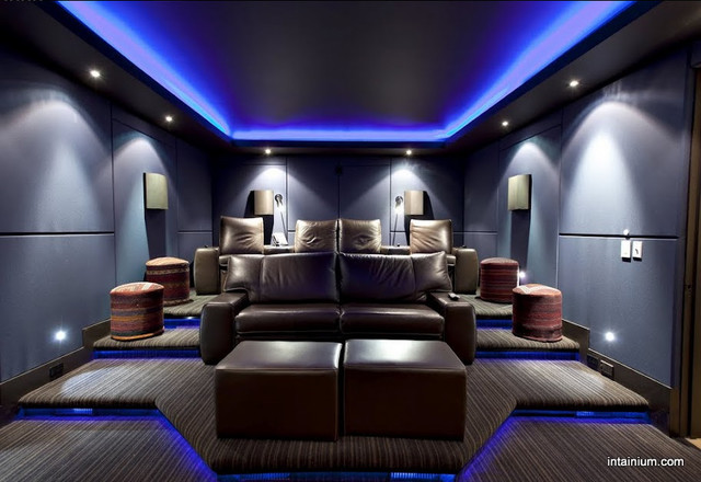 home cinemas home theater toronto by intainium home cinemas - Home Theater Lighting Design