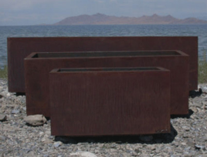 Rectangular Planter contemporary-outdoor-pots-and-planters