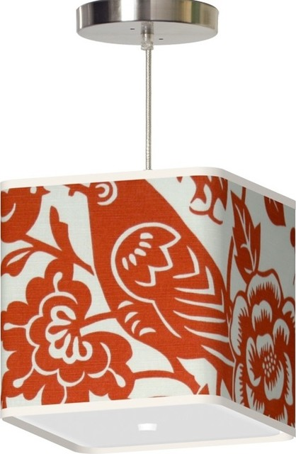 Thomas Paul Lighting Rene Pendant Lamp eclectic-pendant-lighting