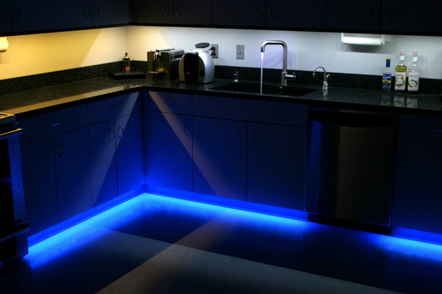 Led Kitchen Under Cabinet And Toe Kick Lighting