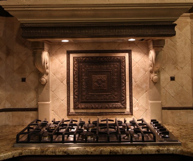 cast stone backsplash traditional cleveland by architectural