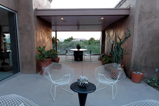 Breezeway mediterranean-patio