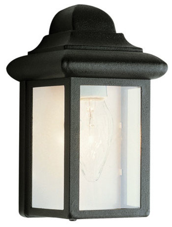 Fowler 8 Inch High Pocket Light -Black modern-outdoor-wall-lights-and-sconces