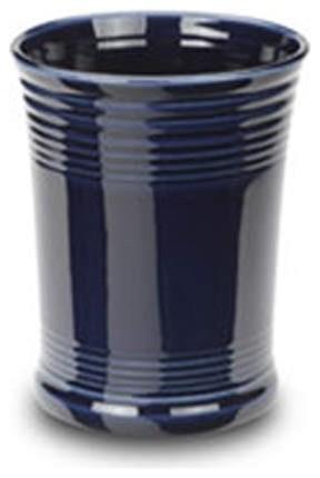 Fiesta Utensil Crock, Cobalt Blue contemporary-utensil-holders-and-racks
