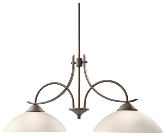 Light Olde Bronze Island Light contemporary kitchen island lighting