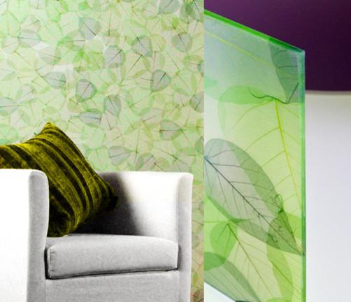 EssenceGlass | Fossil Leaves - Green