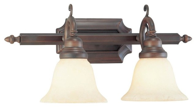 Livex Lighting-1192-58-French Regency - Two Light Bath Bar traditional-bathroom-vanity-lighting