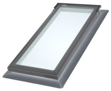 VELUX Outdoor Lighting. Replacement Series 22.5 in. x 45.75 in. Fixed Deck-Mount contemporary-skylights