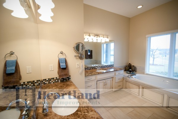 Bathrooms by Heartland Home Improvements traditional-bathroom
